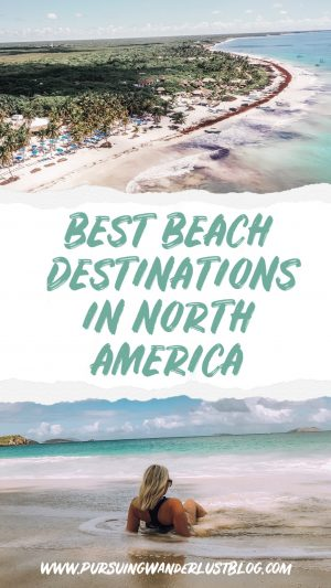 best beach destinations in North America