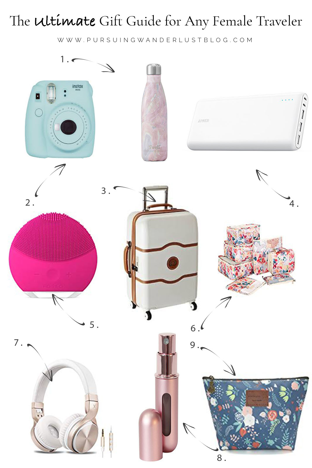 The Ultimate Gift Guide for Any Female Traveler