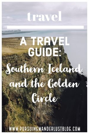 Travel Guide Golden Circle Southern Coast