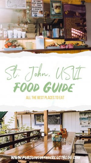 Food Guide to St. John, USVI