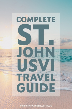 Complete Travel Guide to St. John