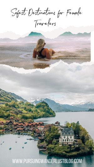 safest destinations for female travelers