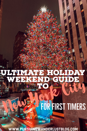 Ultimate Guide to NYC During the Holidays