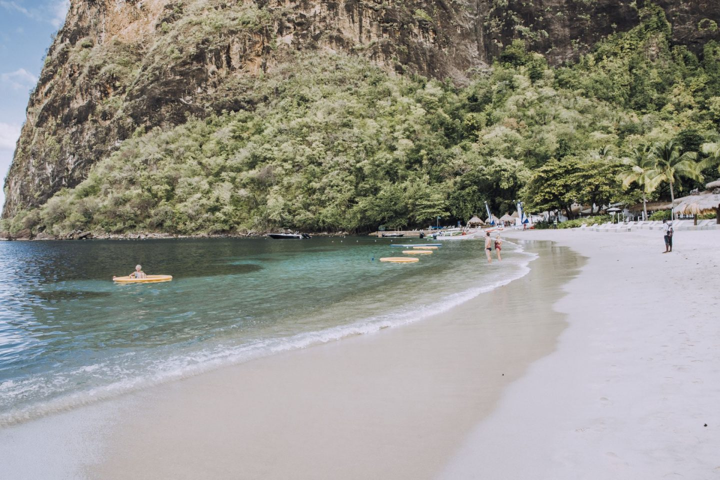 Spending a Day at Sugar Beach in St. Lucia