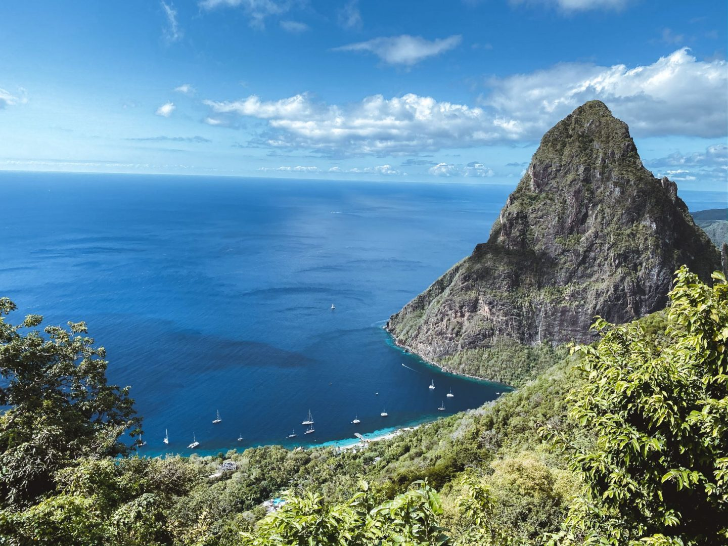 Hiking the Tet Paul Nature Trail in St. Lucia