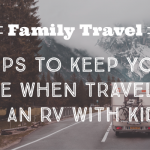 Traveling in an RV with kids